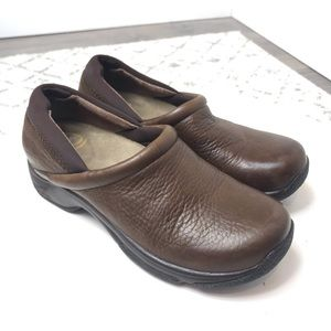 Dansko Leather Clogs Size 38 Brown